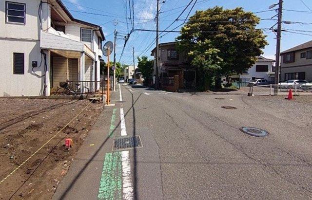 【前面道路含む現地写真】新築 藤沢市大鋸 A号棟