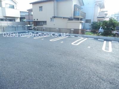 【駐車場】ラ・フォンテ