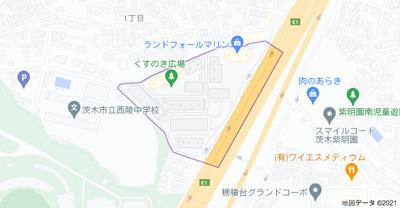 【地図】南春日丘プライムタウンJ棟
