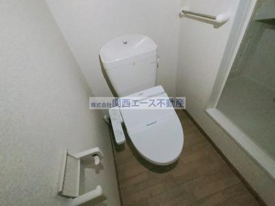 【トイレ】レオパレスウィル