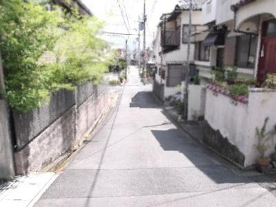 【前面道路含む現地写真】紫野泉堂町