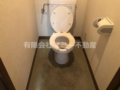 【トイレ】中川原1丁目マンションU