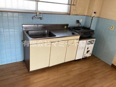 【キッチン】鵜の森2丁目マンションT