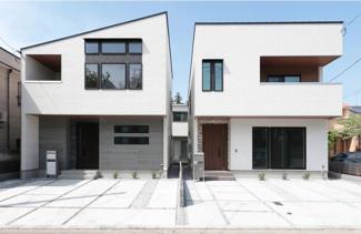 A棟(左側)B棟(右側)完成済です!本日、建物内覧できます。住ムパルまでお電話下さい!