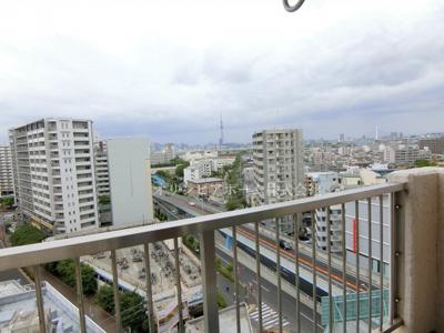 【展望】西新小岩ハイツ 12階 最 上階 角 部屋 リ ノベーション済