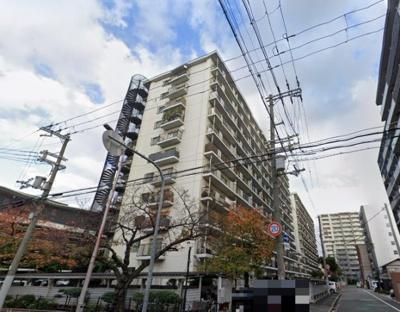 【外観】日商岩井野江マンション