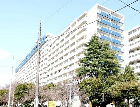 外観です 川崎河原町分譲共同ビル14号棟 メゾネットタイプ 2LDK+WIC 陽当り・眺望・通風良好 新規リノベーション 昭和50年10月築