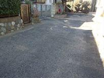 【前面道路含む現地写真】茅ヶ崎市出口町 売地