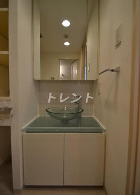 【洗面所】アジールコート西新宿