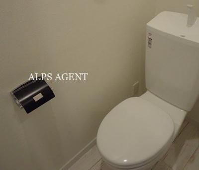 お掃除しやすいシンプルなトイレ。(同一仕様)