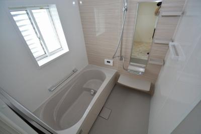 タカラスタンダード製のお風呂場。毎日の疲れを洗い流してください。