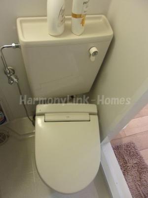Ficus Tokyoのコンパクトで使いやすいトイレです