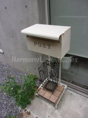 Ficus Tokyoの郵便受け☆