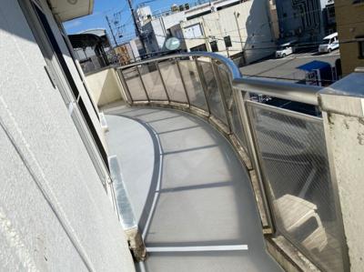 【バルコニー】西浦1丁目アパートM