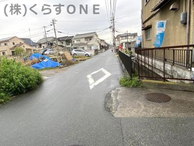 【前面道路含む現地写真】高砂市曽根町/中古戸建