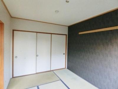 押入れのある南向き和室6帖のお部屋です♪寝具をすっきり収納できるので和室は寝室にもオススメ☆