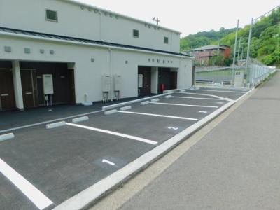 【駐車場】Sora-La祝谷弐番館