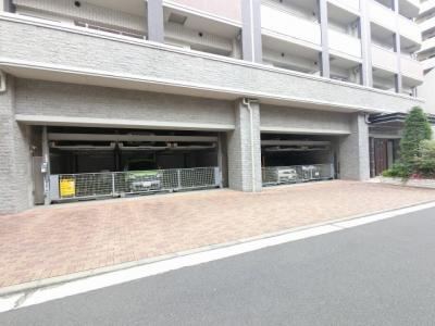 機械式駐車場です。