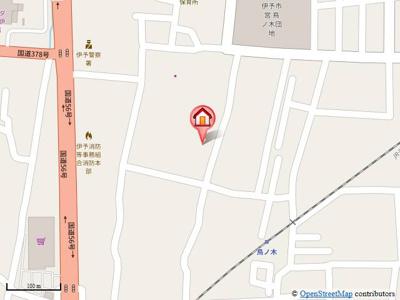【地図】グリーンパーク新井
