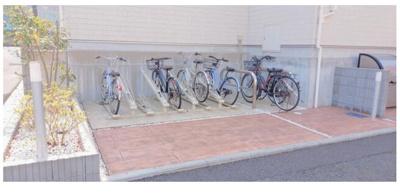 【駐輪場】一棟アパート