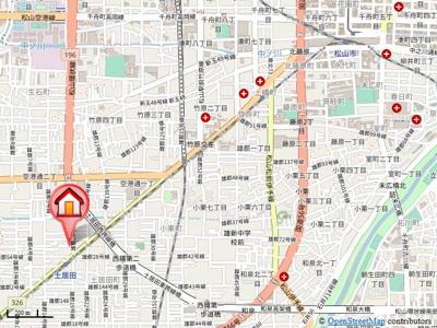 【地図】セジュールMG Ⅴ