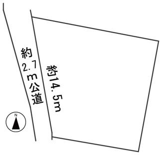 【区画図】56773 岐阜市下鵜飼土地