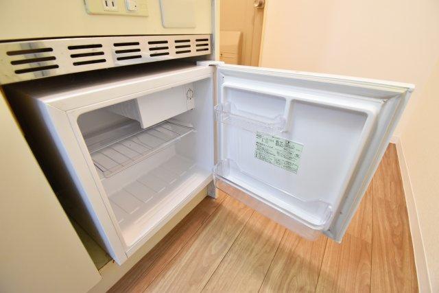 冷蔵庫完備もうれしいポイント。