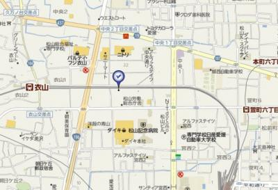 【地図】ハロー・コートMⅡ