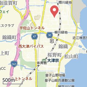 【地図】リレイシャン志賀