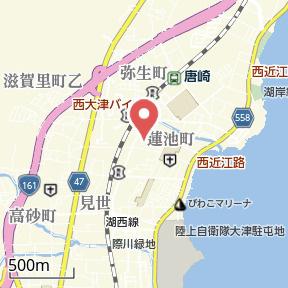 【地図】SAMSQUARE大津京
