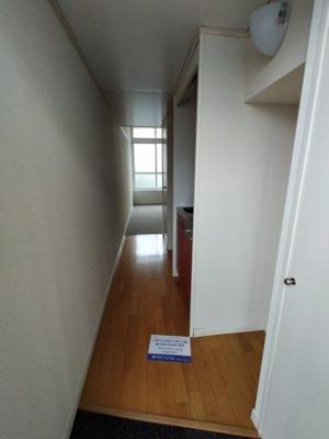 【玄関】レオパレス290