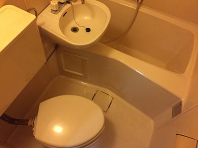 【浴室】ルーブル江古田Ⅱ