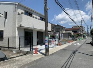 【バルコニー】■茨木市大池2丁目完成済み新築 3号地