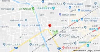 【地図】柳原第2パールマンション (株)Roots