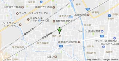 【地図】中岸ビルマンション (株)Roots