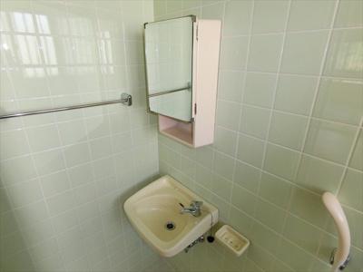 【洗面所】安谷屋アパート