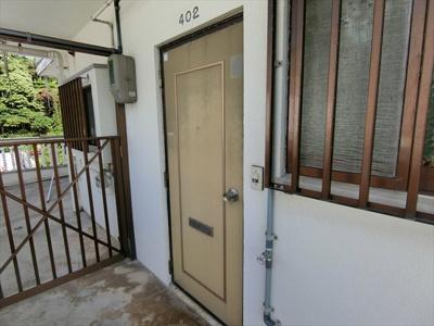 【玄関】安谷屋アパート