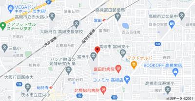 【地図】ハイツ白菊