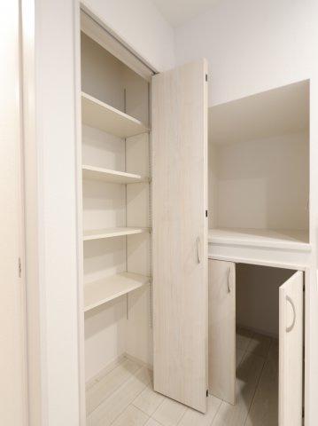 キッチン収納豊富です:建物完成しました♪♪毎週末オープンハウス開催♪三郷新築ナビで検索♪