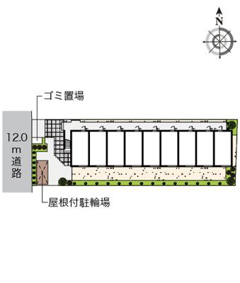 【区画図】伊興レジデンスA
