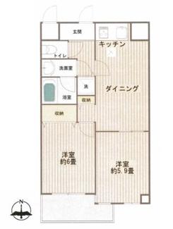 新規内装フルリノベーション済、全室エアコン完備の明るいお部屋