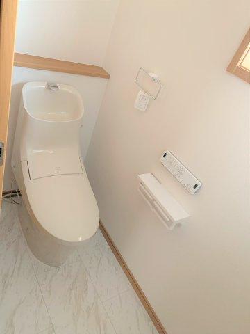 シャワートイレは節水型タイプ。
