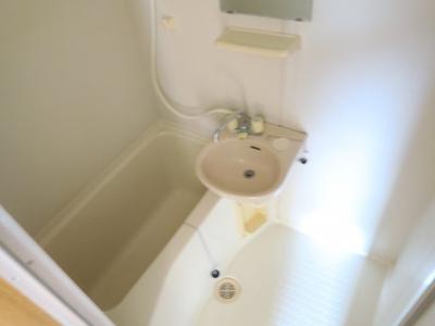 【浴室】コーポ岡田
