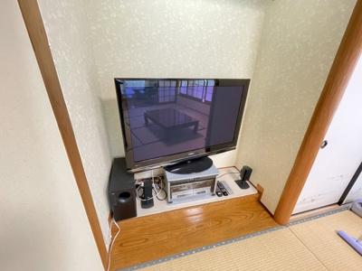 TV・BOSEのスピーカーも利用できます