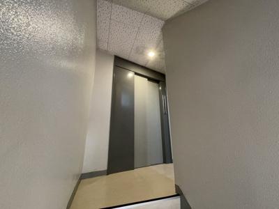 エレベーターで上がれます