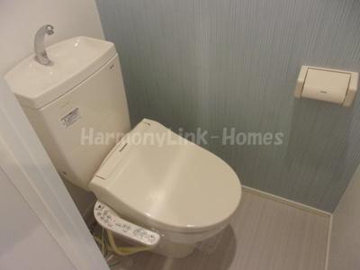 タンタンズハウスのシンプルで使いやすいトイレです☆