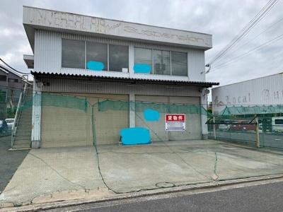 【外観】堺市西区北条町/2階建倉庫 約89坪