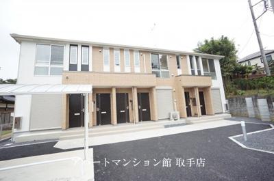 【外観】取手市本郷三丁目新築アパート