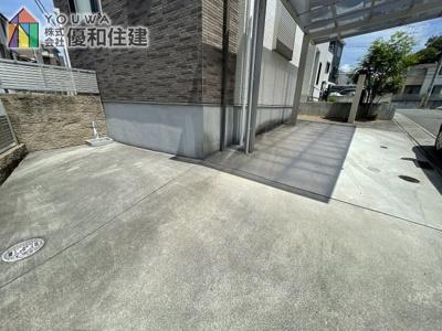 【駐車場】神戸市西区白水 中古戸建