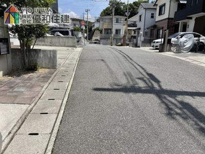 【前面道路含む現地写真】神戸市西区白水 中古戸建